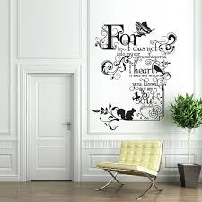 office amazing wall decal ideas 7 trendy wall decal ideas 2 living room decor for