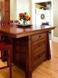 arts and crafts kitchen island arts and crafts craftsman and mission style  kitchen island with 3 .