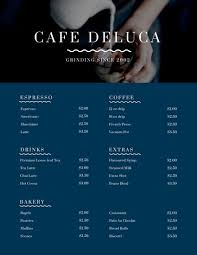 Event Menu Template Stunning Customize 48 Cafe Menu Templates Online Canva