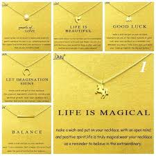 dogeared necklaces gold card summary 1 dogeared elephant unicorn pearl choker statement necklace jewelry chain women