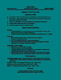 Prep Chef Resume Samples Best Cook Resume Sample Job And Resume