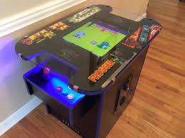 Cocktail Arcade Cabinet Ms Pacman Multicade Arcade Cocktail Table Castle Classic Arcade