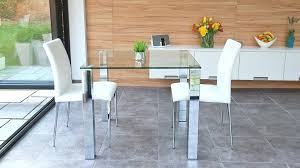 glass kitchen table round
