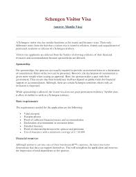 Format For Sponsorship Letter Adorable Model Sponsorship Letter Sample For Visa Template Sponsor