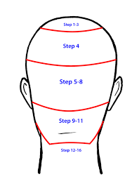 as always the fade must be precise and not too high to keep a balanced looking men s haircut the clean tapered outline will really make the haircut shape