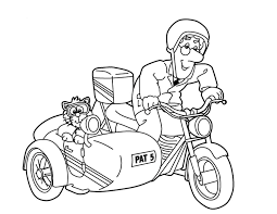 Small Picture Postman Pat Colouring Pages Pokoloruj wiat