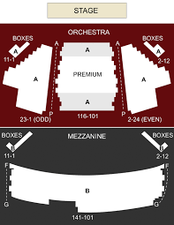 American Airlines Theater New York Ny Seating Chart
