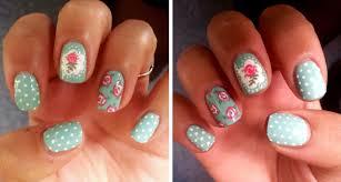 Dahlia Nails: Cath Kidston Floral Mani