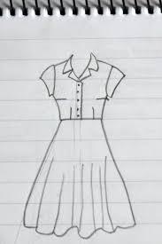 How To Draw Girl Shirts Shirt Dress Sketch Vicki Kate Makes