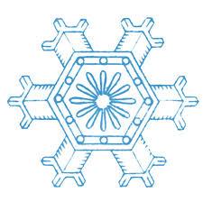 country snowflake clipart. Modren Snowflake Vintage Winter Clip Art U2013 More Lovely Snowflakes With Country Snowflake Clipart I