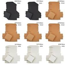 <b>10pcs</b> Handmade Cardboard Package Kraft Paper Box Gift Craft ...
