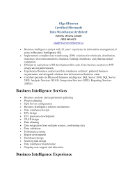 Olga Klimova - Data Warehouse Resume. Olga Klimova Certified Microsoft ...