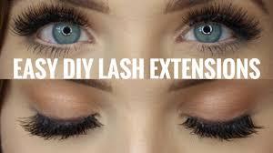 diy eyelash extensions quick easy faith drew