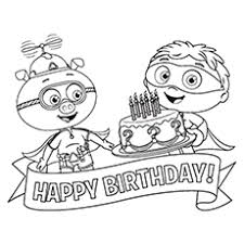 Small Picture Top 10 Super Why Coloring Pages For Your Toddler