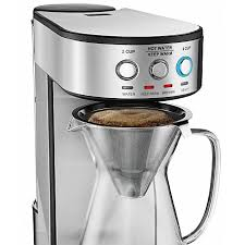 The gourmia automatic cold brewer may have the solution you seek. Coffee Machine Gourmia Gcm4900 Coffee Maker Electric Pour Over Brewer 5 Minute Quick Brew Glass Carafe Stainless Steel Accents Timer And Keep Warm One Touch Digital Control 2 4 Cups