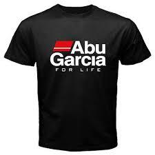New Abu Garcia For Life Fishing Reel Logo Men S Black T Shirt Size S To 3xl Ebay