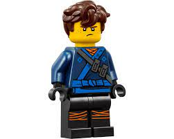 LEGO Set fig-002895 Jay with Hair (LEGO Ninjago Movie) (2017 Ninjago >  Ninjago The Movie) | Rebrickable - Build with LEGO