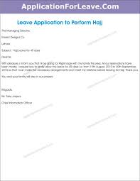 Leave Application Format For Office Best Casual Leave Application Format In Ms Word Office Perform Hajj Easy