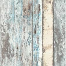 grandeco rustic wood teal paste the