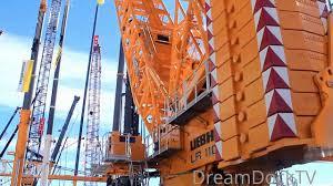 Liebherr Lr 11000 New Giant Crawler Crane Conexpo Las Vegas