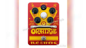 <b>Педаль Orange Two Stroke</b> Boost EQ купить в Санкт-Петербурге ...