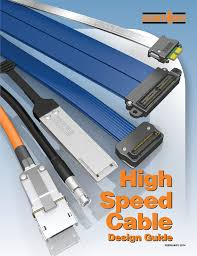 Steel Cable Design Guide High Speed Cable Guide