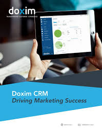 Brochure: Crm For Marketing