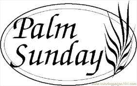 Small Picture Palm sunday 2 coloring page free holidays pages clip art Clipartix