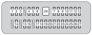 toyota tundra second generation mk2 2010 fuse box diagram toyota tundra mk2 fuse box instrument panel