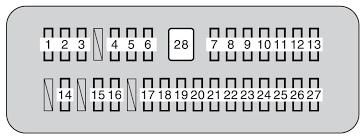 toyota tundra second generation mk2 (2010) fuse box diagram 2015 tundra interior fuse box diagram at 2016 Tundra Fuse Box