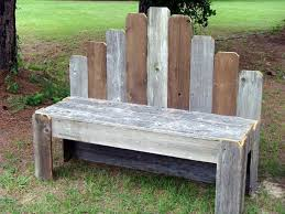 Recycled Wood Pallet Benches