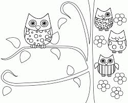 Nixnlnnkt Cute Owl Coloring Pages Gerrydraaisma