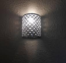 outstanding wall light sconces glasetal design on walls