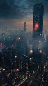 city of future wallpaper