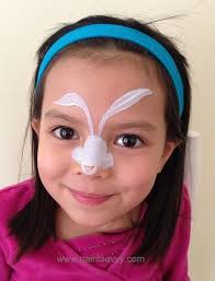 Small Picture Easter bunny face painting tutorial Paint Savvy parties events