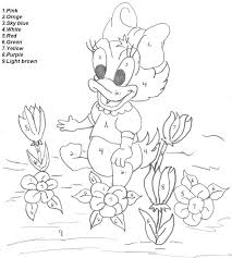 4b7c06d2962c63a0cac9c6ec676dcb7f disney paint by number coloring pages color by number worksheets on color by number spanish coloring page