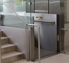 Apex Elite Stainless Steel Vertical Wheelchair Lift Apex Elite