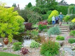 Small Picture Garden Design Garden Design with Gorgeous Garden Pond Ideas with