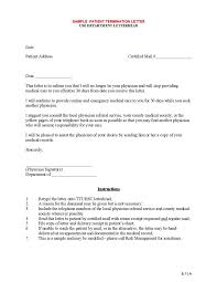 9 Official Termination Letter Templates Free Samples Examples
