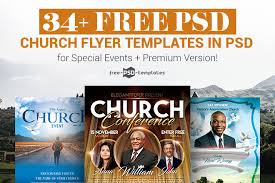 Free Flier Template 34 Free Psd Church Flyer Templates In Psd For Special
