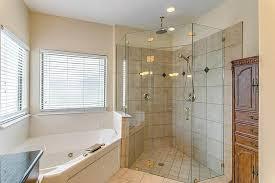 corner neo angle shower stall installed