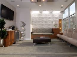 office waiting room design. beverage cooler tv and wall pattern ora oral surgery implant studio family waiting room office design