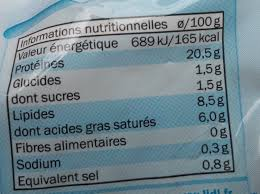 Mozzarella Light Nutrition Facts Mozzarella Light 8 5 Mg Linessa 125 G