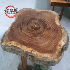 get ations zebrawood disc wood logs large plate table tea table round table round specials root china xia