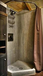 super corrugated sheet metal bathroom cast concrete shower pan and yu88