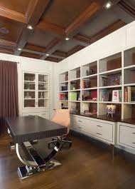 modern office ceiling. Modern Office With A Coffered Ceiling