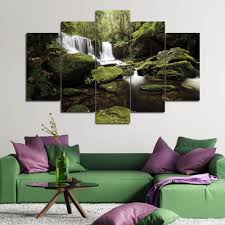 Waterfall Home Decor Online Get Cheap Nature Pictures Waterfalls Aliexpresscom