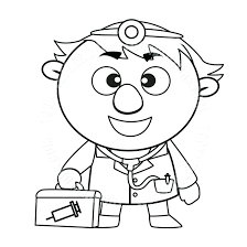 first aid coloring pages. Interesting Pages First Aid Coloring Pages Cartoon Doctor With Kit Black And White  Line Art Click With First Aid Coloring Pages R