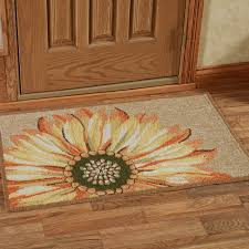 sunflower rectangle accent rug multi warm