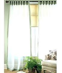tab top sheer curtains. Sheer Cotton Curtains Tab Top Tie Left Weavers Cloth Middle Panels And Right